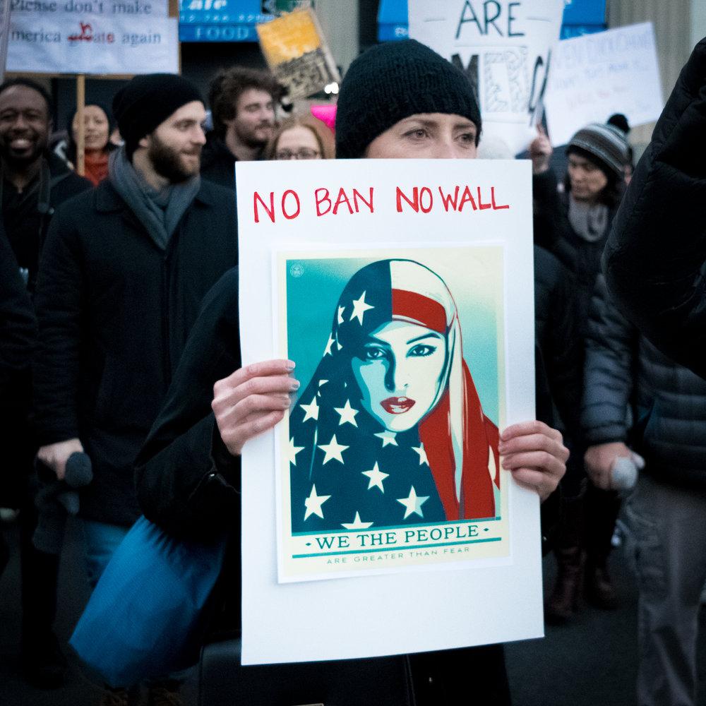"""""""No Ban No Wall"""""""
