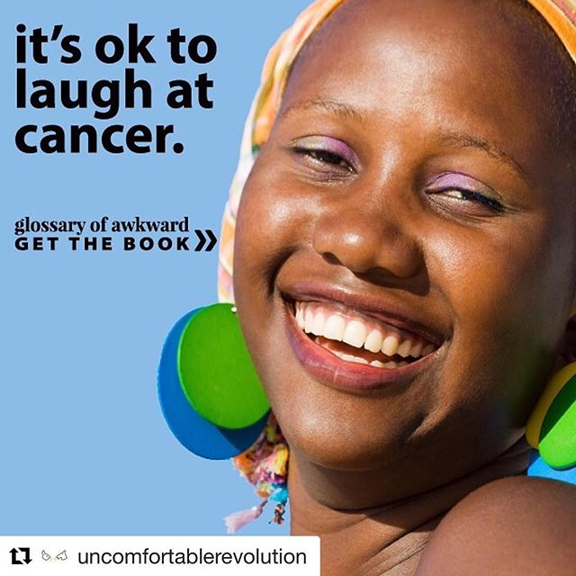 #Repost @uncomfortablerevolution with @get_repost ・・・ #GlossaryOfAwkward available on #Kickstarter - The book is a celebration of the awkward and often hilarious things said to people with cancer by @septpiliers @ceelgee #simonkneebone . . Brendan is a #cancersurvivor with #CML . #cancerawareness #findacure  #awkwardmoments #cancersurvivor #kickstarter #kickstarterproject #kickstartercampaign #crowdfunding #indiepublishing #indiepub #indiepublisher | #illustration by #simonkneebone