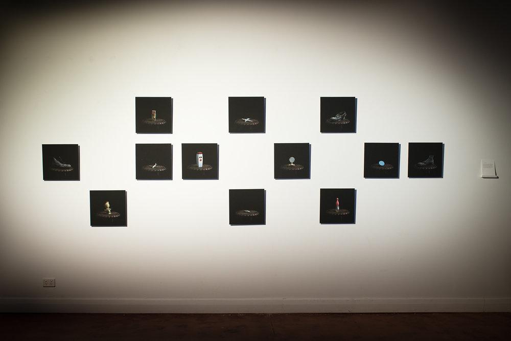 Install grid, POP Gallery, Brisbane.