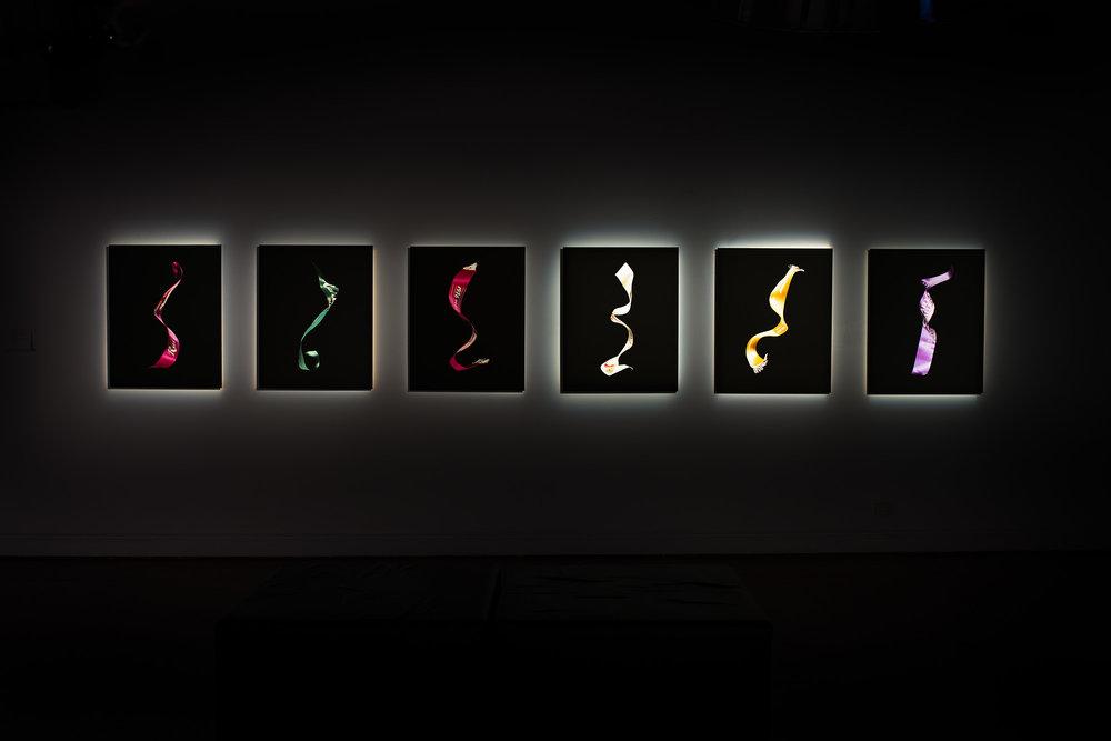 Installation at POP Gallery, Brisbane.
