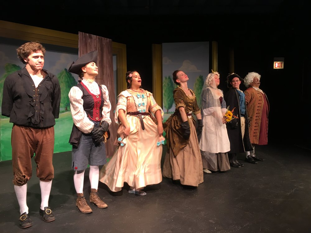 Felipe Carrasco as Osric, Ari Kraiman as Tilly, Daenalís Resto as Trotte, Megan Schemmel as Aunt Theodosia, Kate Booth as Penelope, Amanda Forman as Luitger, and Linsey Falls as Lord Abernathy