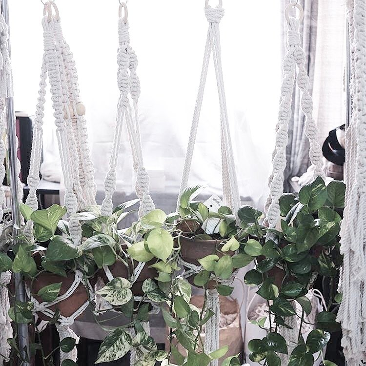 Dec 2 | 4-6PM Macrame Plant Hanger Making + Plant Tips with Makrama & Shop Tilly FREE!