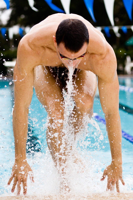 George Bovell / Olympic Swimmer / Cover story / M People Magazine
