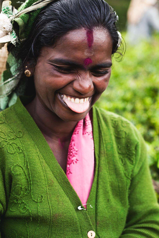 Tea farmer / Nuwara Eliya / Sri Lanka / Getty Images
