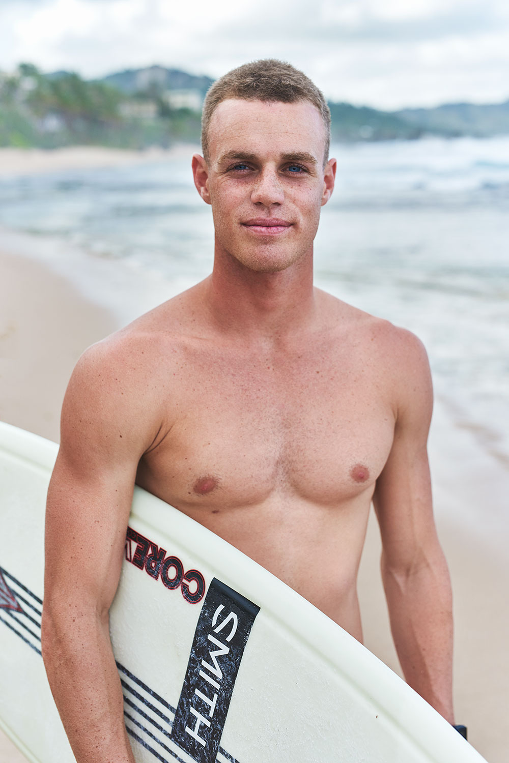 Corey Howell /  Pro Surfer / Barbados