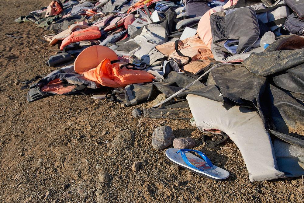 Lifejacket graveyard /  Lesvos /