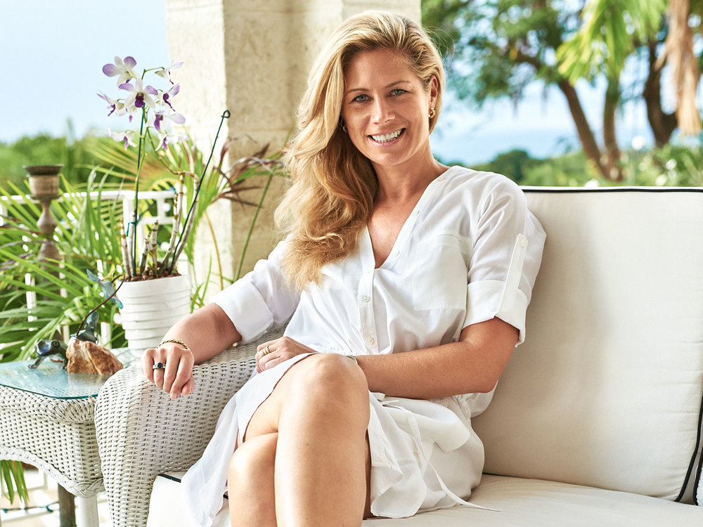 Stephanie Von Oppen /  Entrepreneur / Sandy Lane, Barbados /