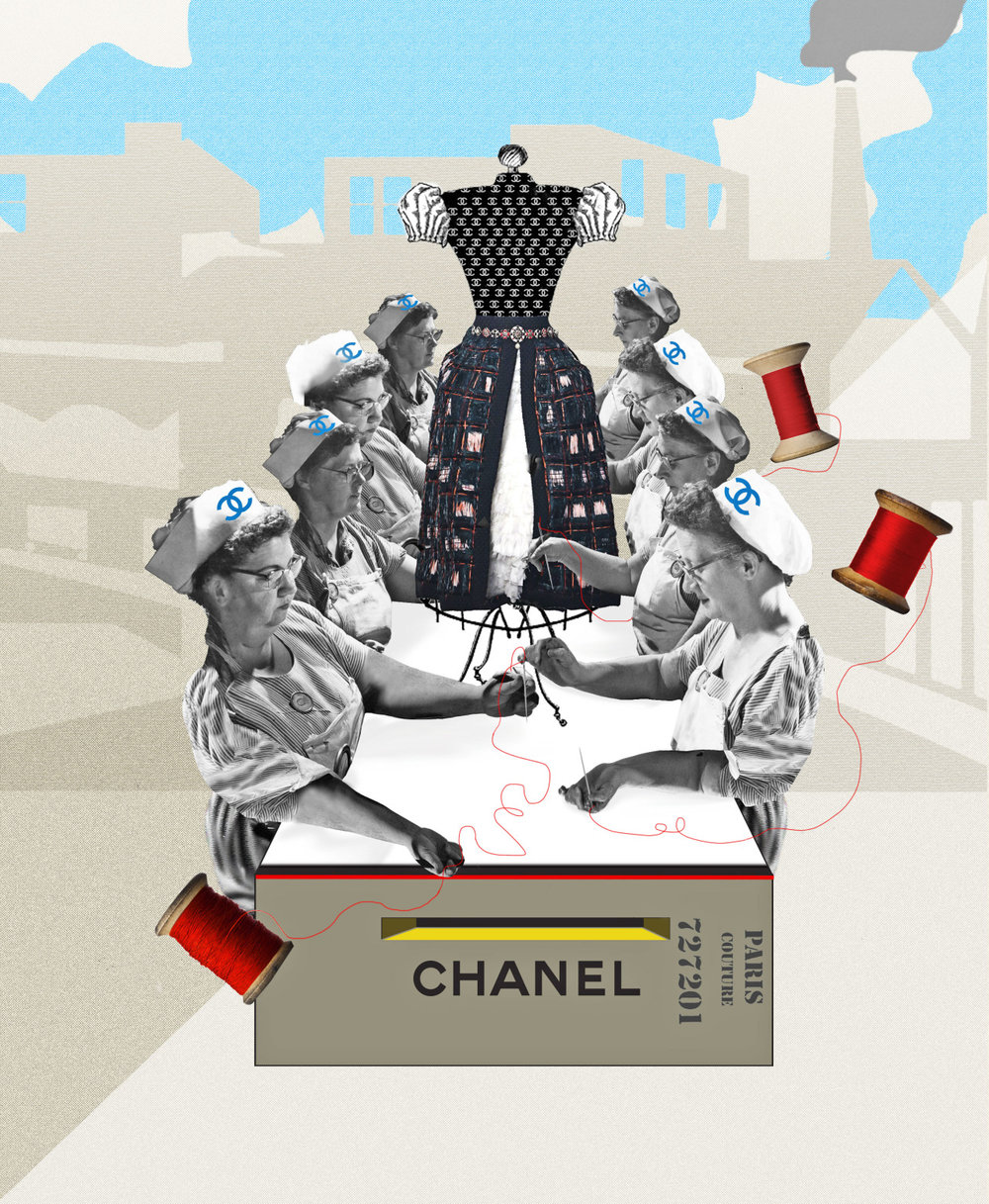 CC Factory By saving some venerable artisanal workshops, Chanel is ushering in a new era Text Harriet Mays Powell