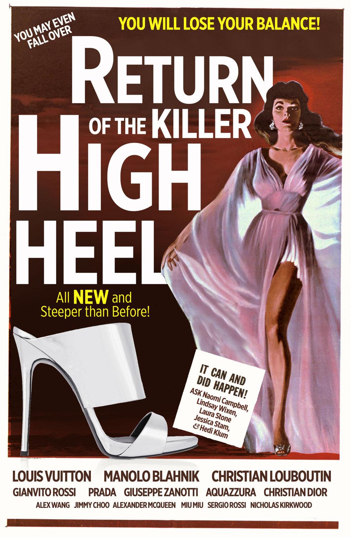 Return of the Killer High Heel High Heels are Finally Making a Comeback