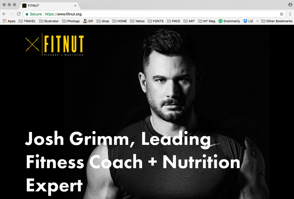 FITNUT Personal Training Site
