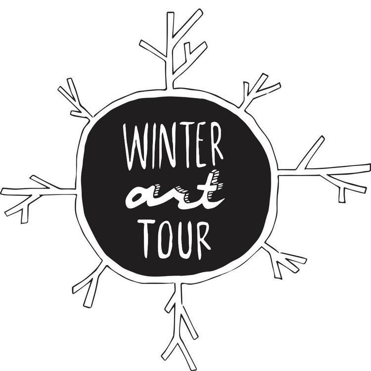 Part of the Winter Art Tour!