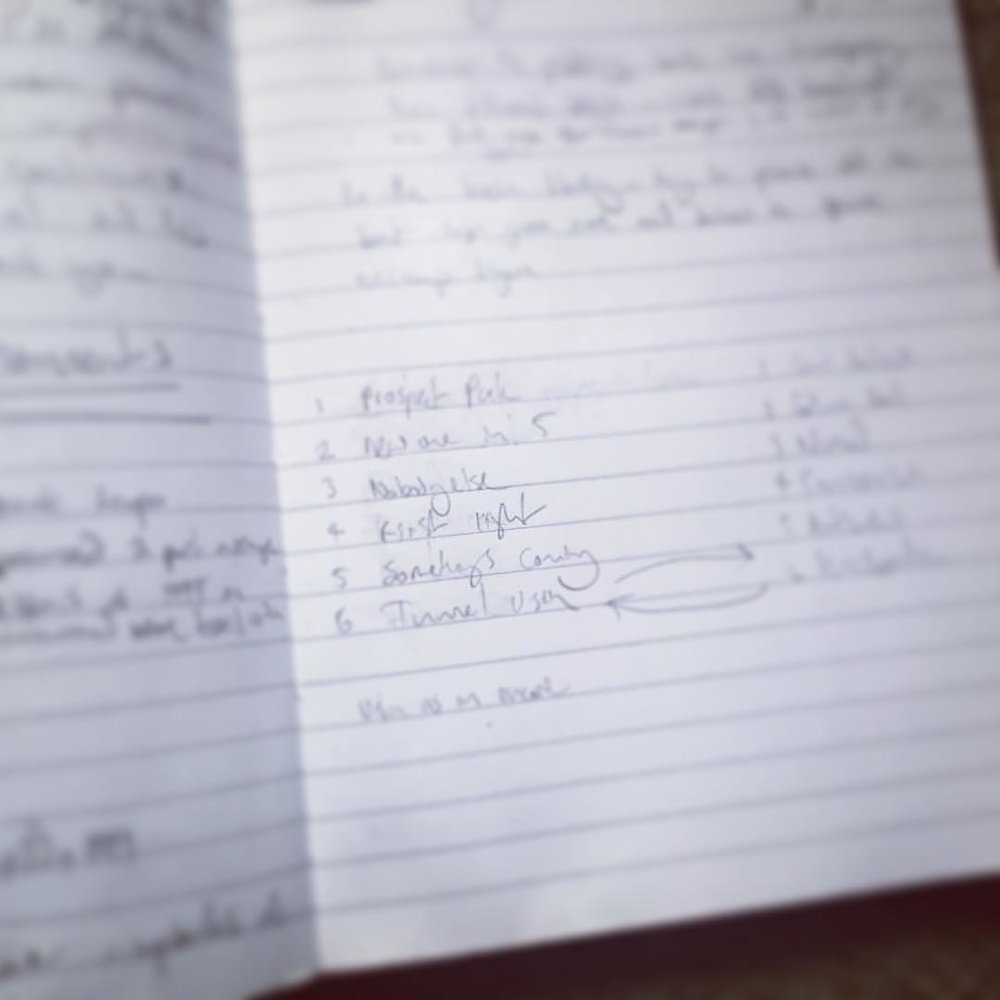 Trying to make the perfect set list #solopianotour