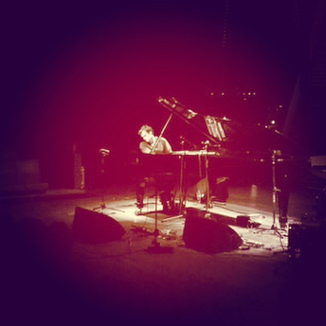 Thanks to Jan Molendijk for the photo of tonight #bimhuis #solopiano (at Bimhuis)