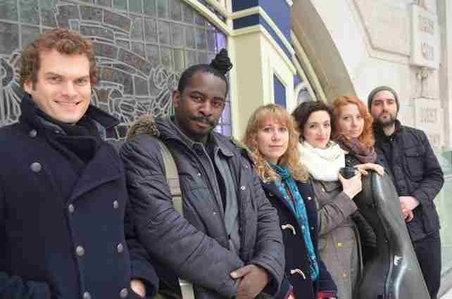 McCormack & Yarde Duo meets the Elysian Quartet currently on UK tour. More info at  www.myduomusic.com