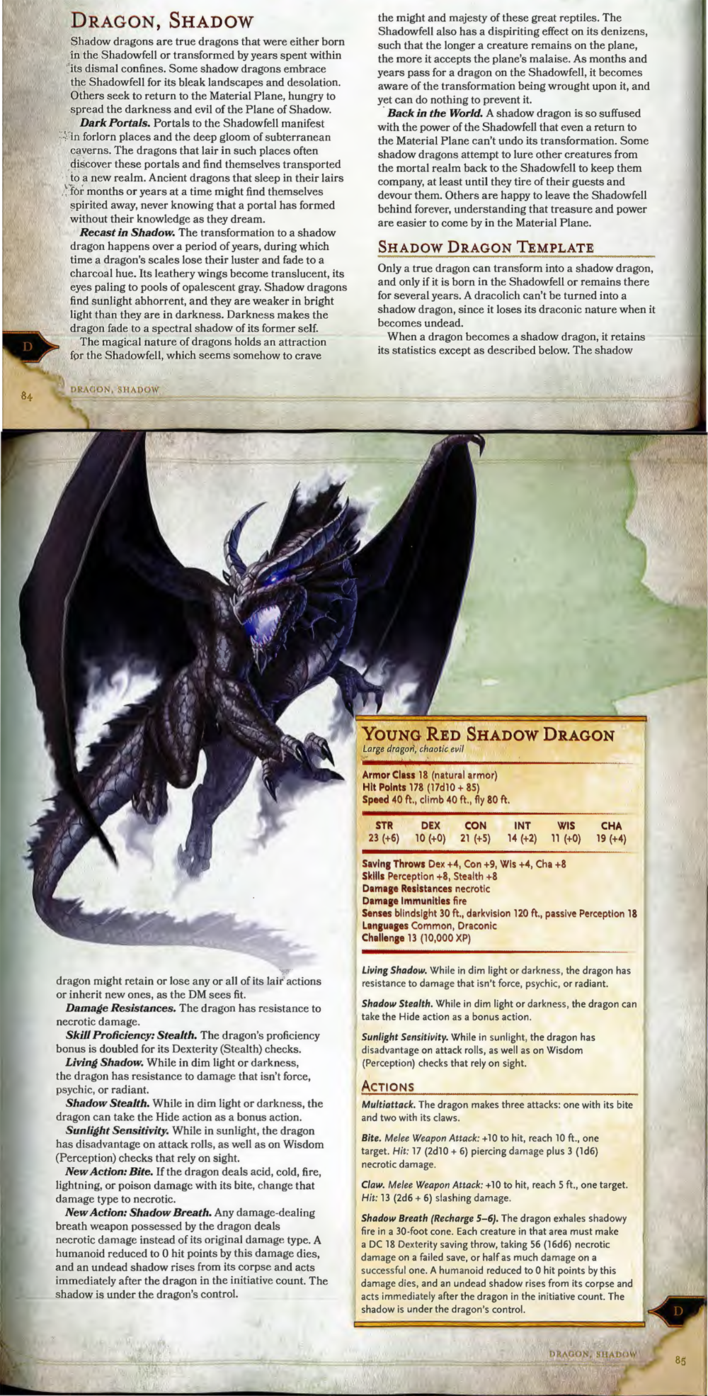 Monster Manual, Page 84-85