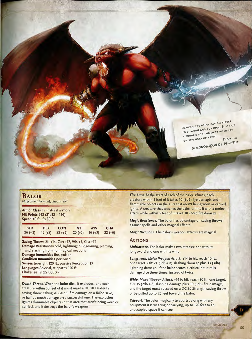 5e Monster Manual, Page 55