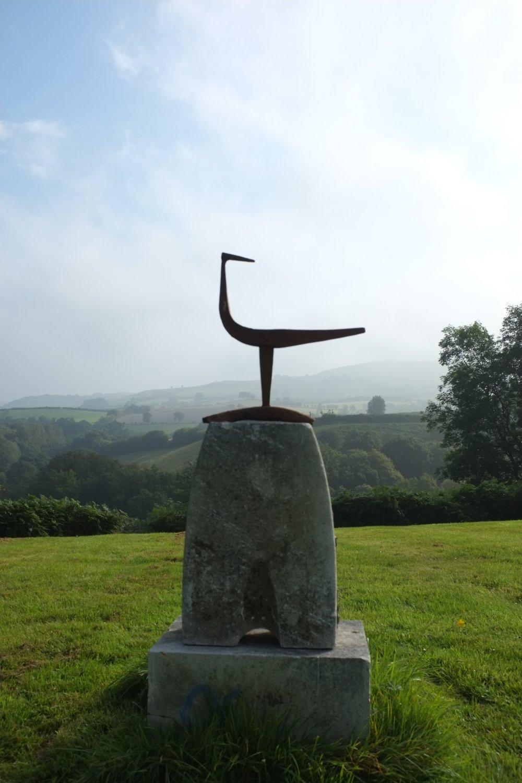 Bird on stone