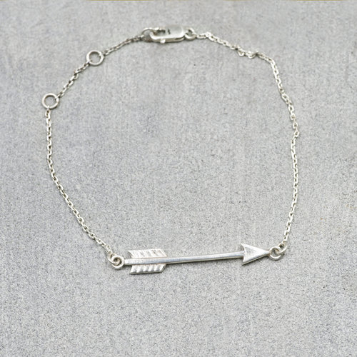 products helen fashion arrow silver sageandamber online dubai store bracelet