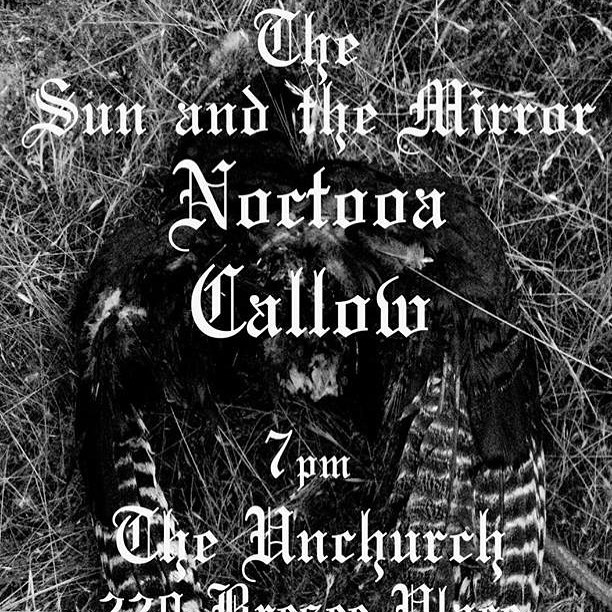 Grass Valley! We'll see you Feb 16. With our friends @noctooa & @thesunandthemirror ! #callow #noctooa #thesunandthemirror #grassvalley #nevadacity #livemusic #doom #psych #darkfolk #noise #magic #unchurch #dreamdoom