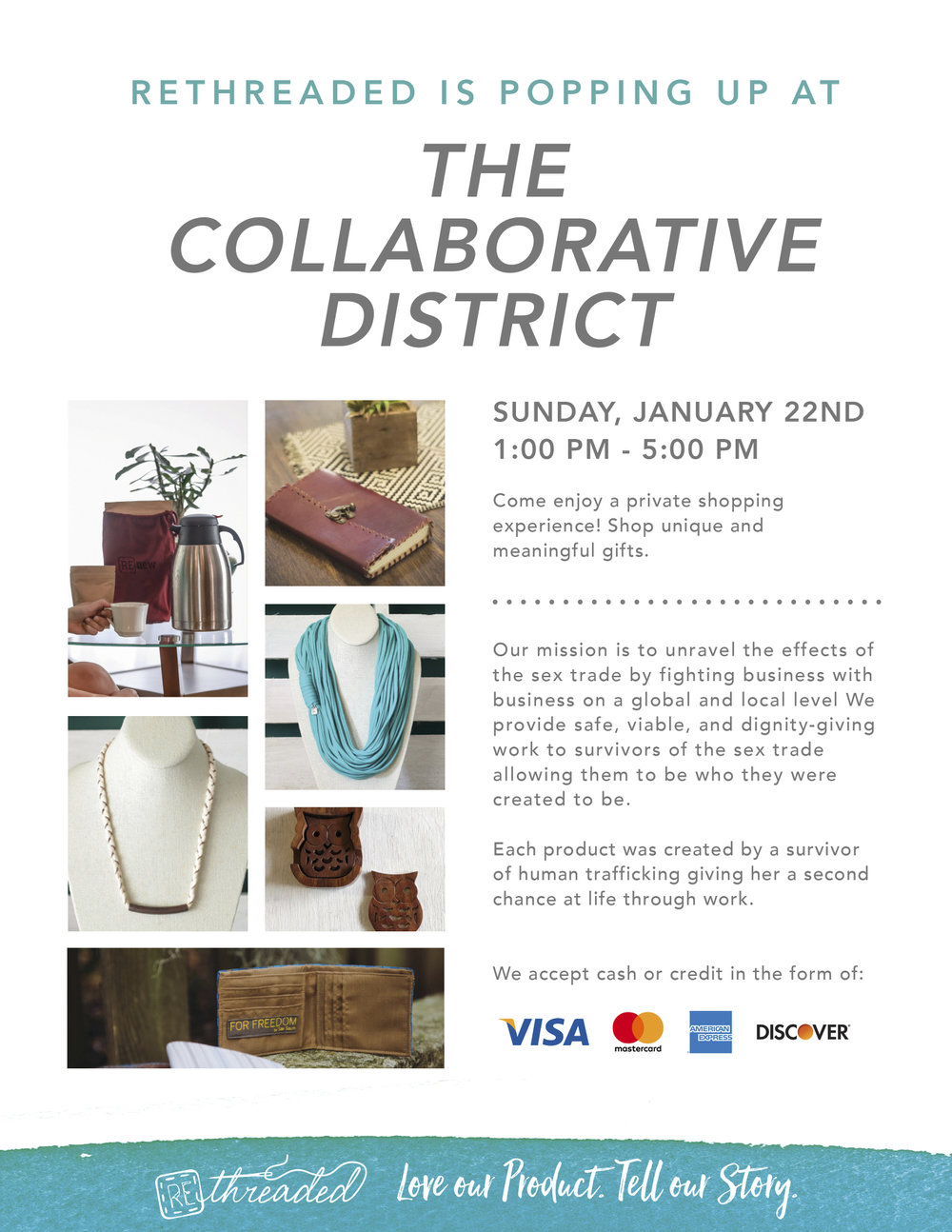 Collaborative District Pop up Event