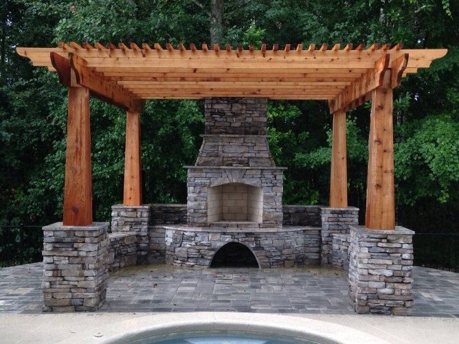 Stonecore Fireplace with Pergola.jpg