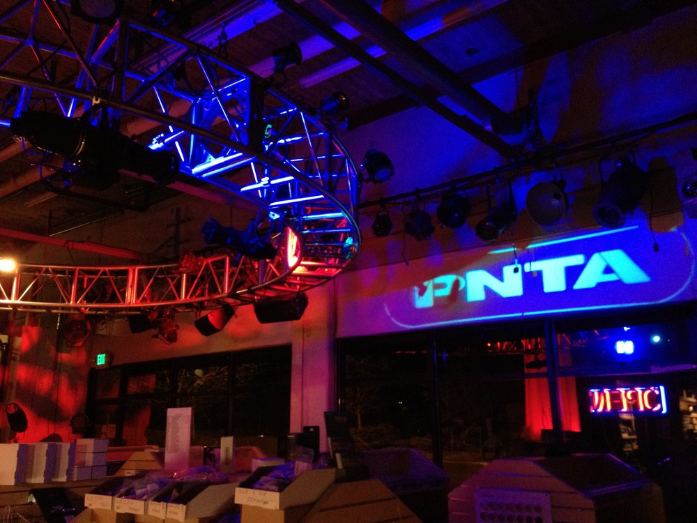Display Lighting in PNTA Store