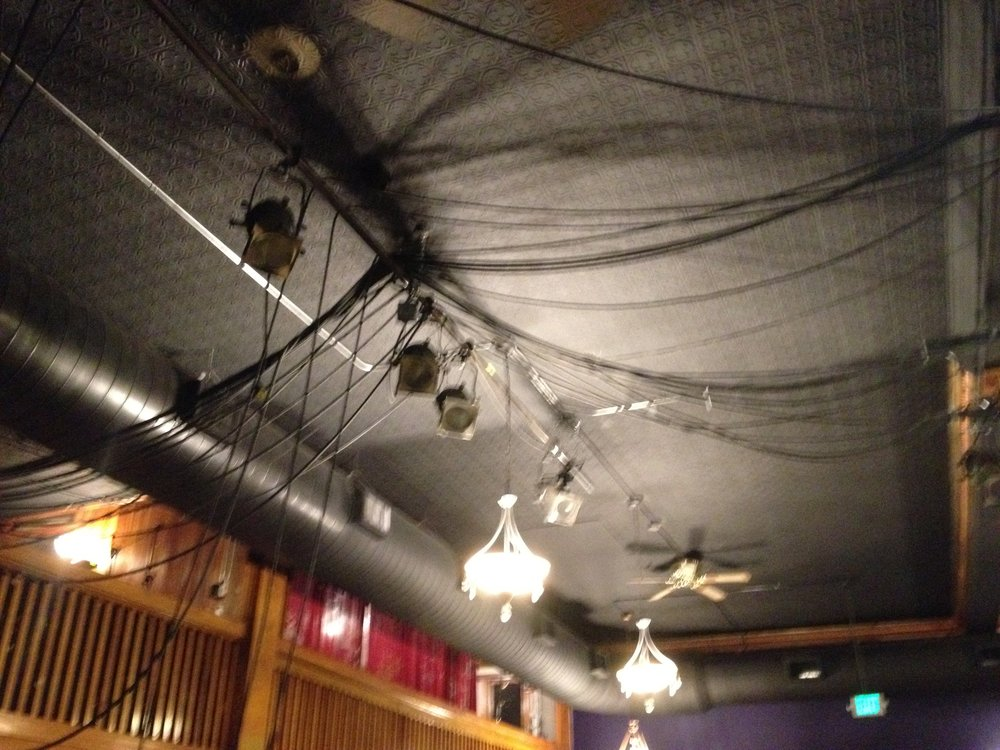 "Old dimming ""distribution"" in a community theatre"
