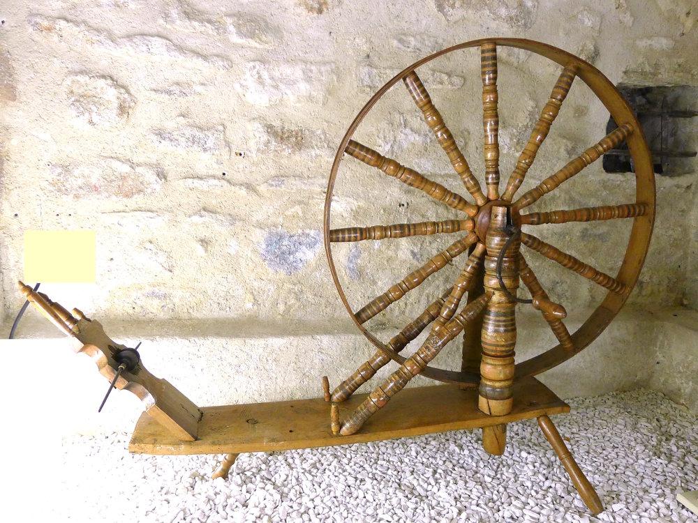 rouet polychrome