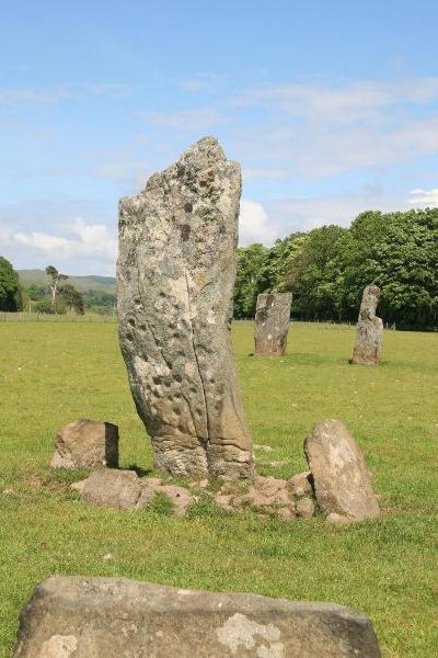 Nether Largie Standing Stones in the Kilmartin Glen