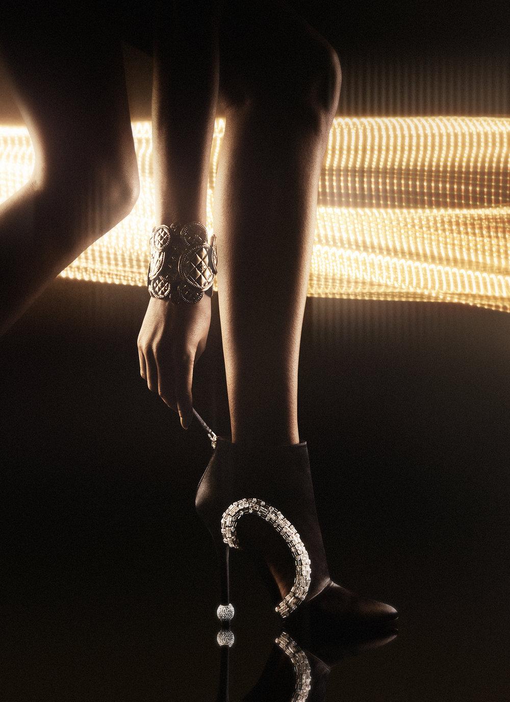 Roger Vivier / Chanel / George McLeod / Luxure Magazine