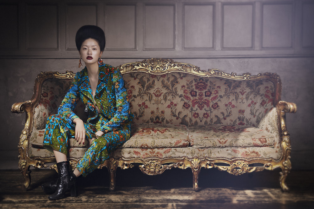 Louis Vuitton / George McLeod / Luxure Magazine