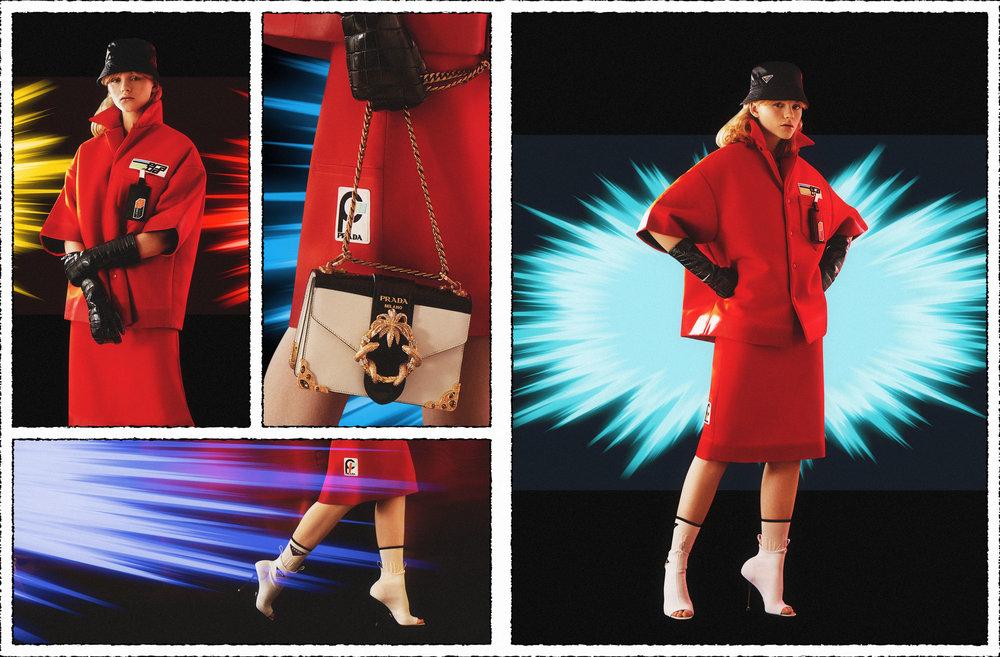 Prada / George McLeod / Luxure Magazine