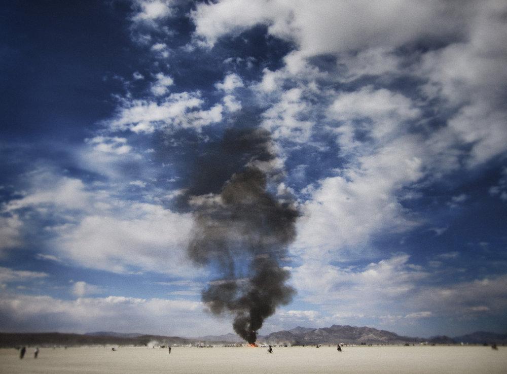 Burning Man / George McLeod