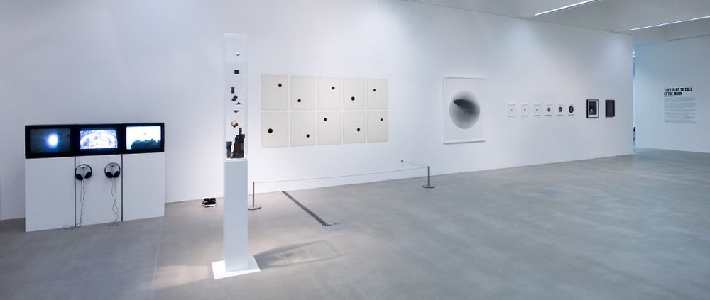 Caroline Corbasson in  They Used to call it the Moon , at Baltic 39, Newcastle (UK), 2014 installation view