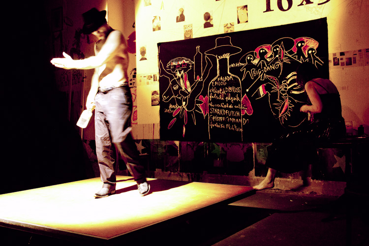 Nomade Deamon  2011 Cabaret Voltaire Zurich, Switzerland