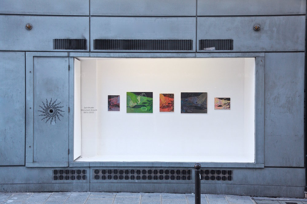 Monument Around - Zach Bruder - Exhibition View - Window Space.jpg