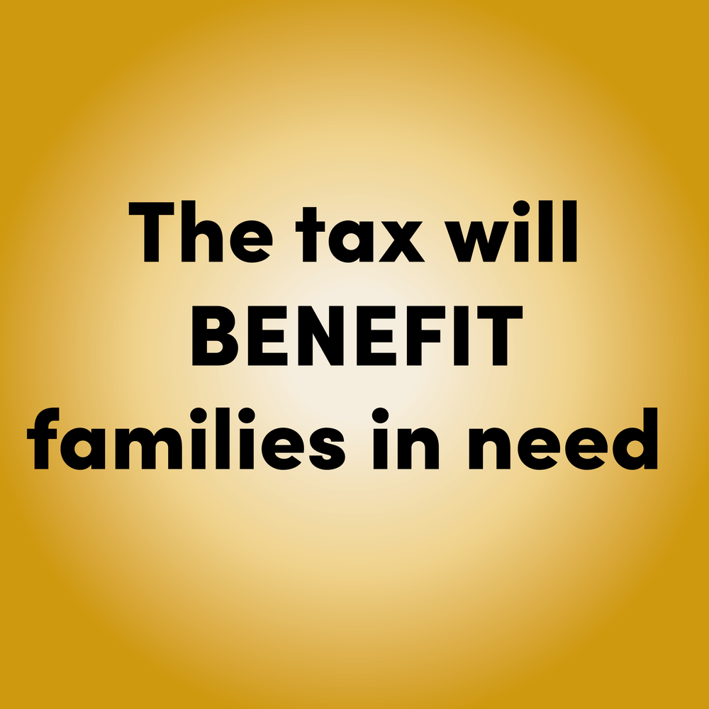 TRUE      The tax is estimated to initially generate almost  $10 million  annually for programs that increase access to affordable healthy food and education opportunities for lower income families