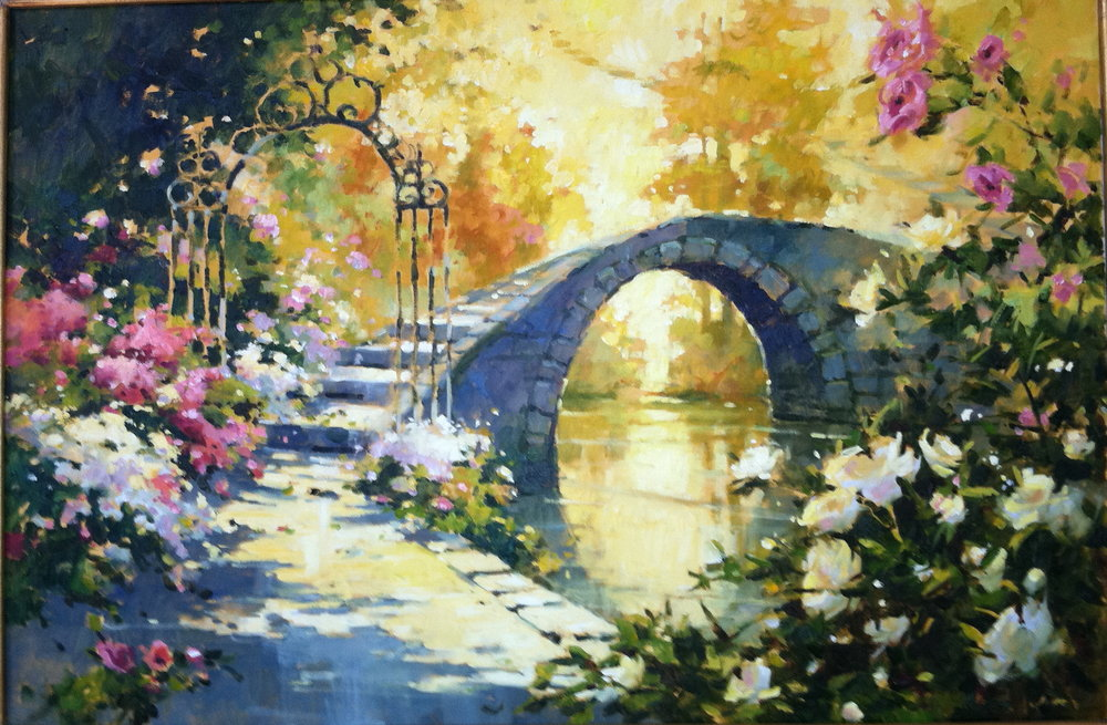 Image result for prophetic art Bridge of life