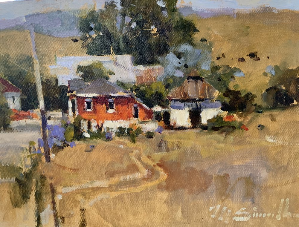 Harmony, California 12 x 16