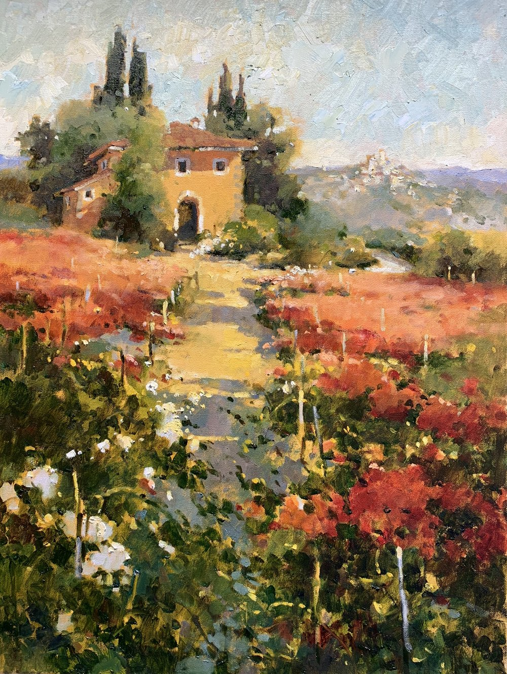 Tuscan Treasures 24 x 18