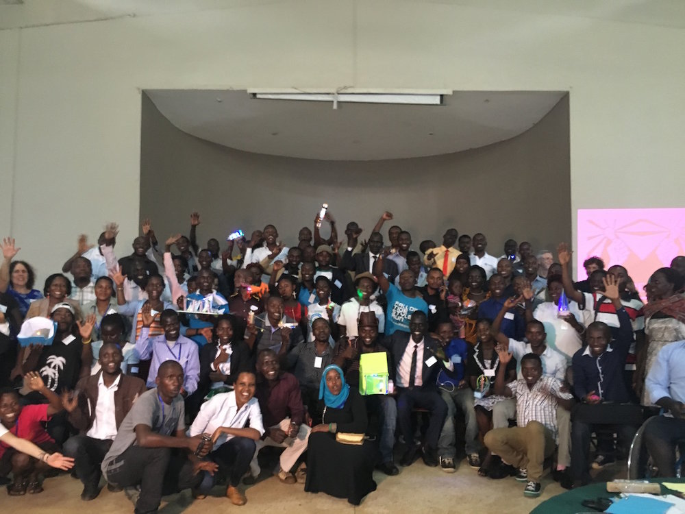 Bottom-up innovation workshop for refugees in uganda