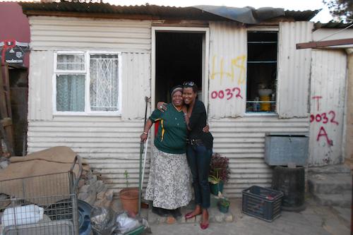 Mentoring micro-entrepreneurs in Johannesburg.