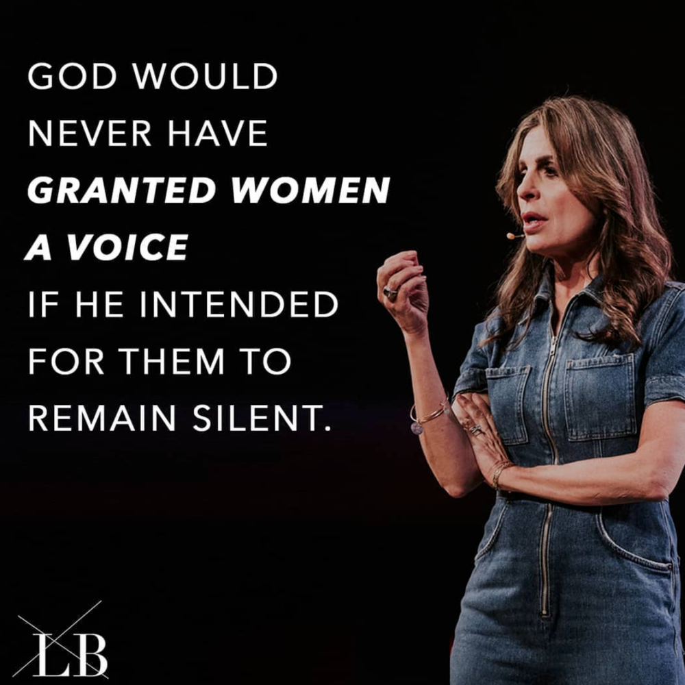 Women, it's time to USE YOUR VOICE to ENCOURAGE the young and the not so young, to BUILD, to BLESS, to SPEAK TRUTH, to INVITE others in, and to tell the never-ending story of hope, faith, & LOVE 💕 The earth needs its DAUGHTERS.