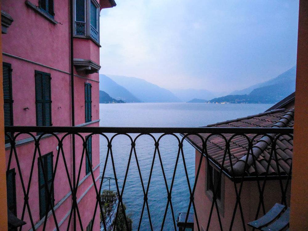 The Kenney Way Lake Como Hotel Balcony