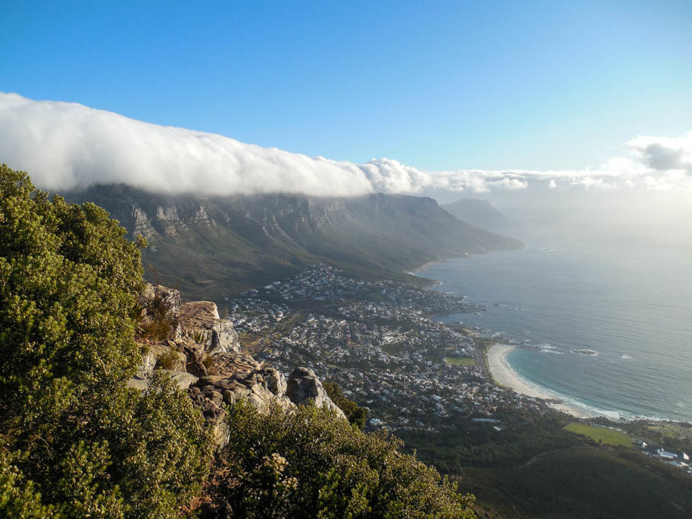 The Kenney Way Travel On Top Lions Head Summit Clouds Cape Town