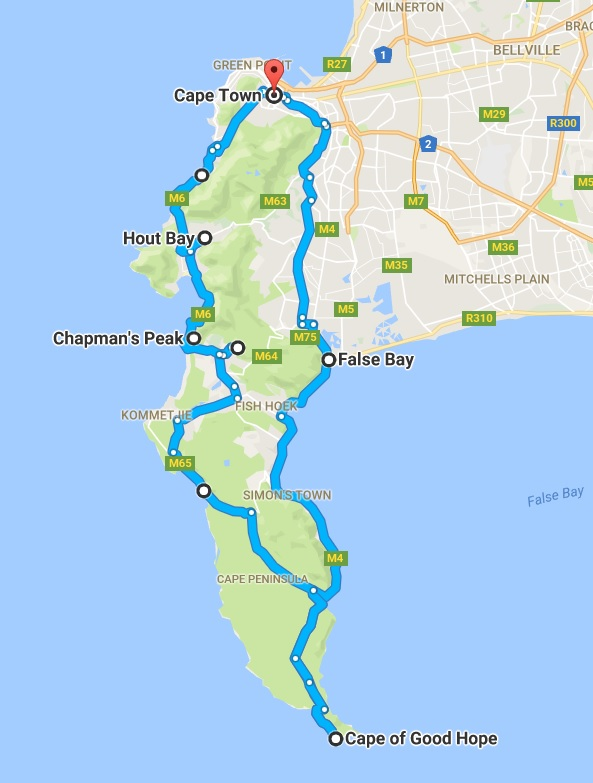 The Kenney Way Cape Town Travel Path