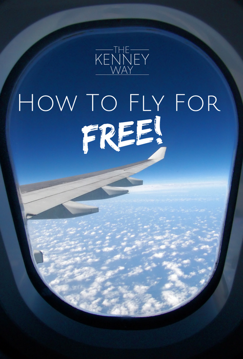 The Kenney Way - Travel Tip How To Travel For Free