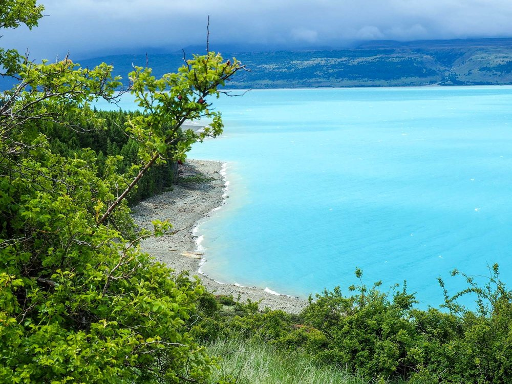 Lake Pukaki. Yes, the water really is that blue. I've never seen anything like it!