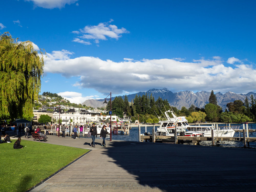 Queenstown. We have met many people who said they came to Queenstown on vacation and never left. We totally understand why!