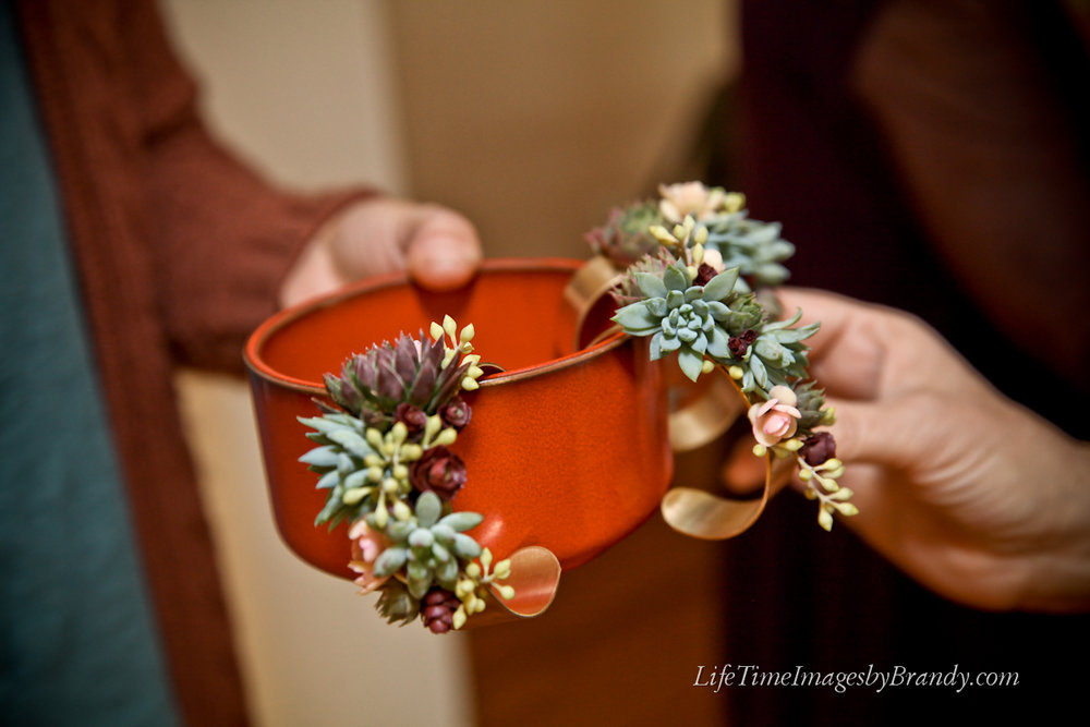 Succulent Corsages
